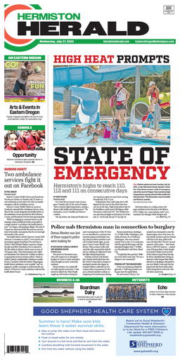 Hermiston Herald Latest e-edition